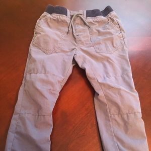 Boy's Lined Cargo Pants